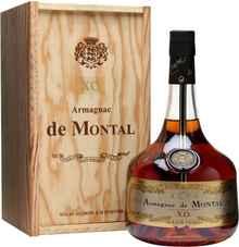 Арманьяк «Armagnac De Montal Armagnac» в деревянной подарочной упаковке