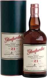 Виски шотландский «Glenfarclas 21 years» в тубе