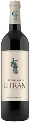 Вино красное сухое «Le Bordeaux de Citran Rouge Chateau Citran» 2016 г.