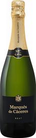 Вино игристое белое брют «Cava Brut Marques De Caceres»