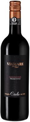 Вино красное полусухое «Cielo e Terra Viamare Sangiovese Primitivo» 2018 г.