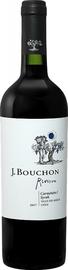 Вино красное сухое «Carmenere Syrah Reserva Maule J. Bouchon» 2018 г.