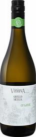 Вино белое сухое «Vinuva Organic Grillo Sicilia Enoitalia» 2017 г.