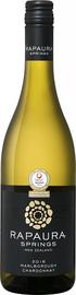 Вино белое сухое «Rapaura Springs Chardonnay Marlborough» 2017 г.