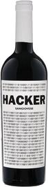 Вино красное сухое «Hacker Toscana» 2017 г.