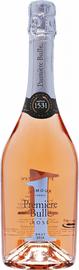 Вино игристое розовое брют «Premier Bulle Rose Brut Cremant de Limoux» 2014 г.