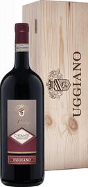 Вино красное сухое «Prestige Chianti» 2018 г., в деревянной подарочной упаковке