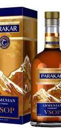 Коньяк армянский «Parakar VSOP» в подарочной упаковке