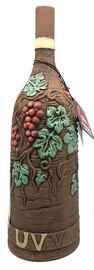 Вино столовое красное сухое «Usakhelauris Venakhebi Saperavi» глиняная бутылка (полукруглая)