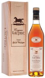 Коньяк французский «Lautrec Grande Champagne VSOP» в деревянной подарочной упаковке