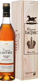 Коньяк французский «Lautrec Reserve Rare» в деревянной подарочной упаковке