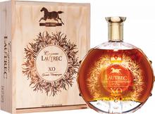 Коньяк французский «Lautrec Grande Champagne XO» в деревянной подарочной упаковке