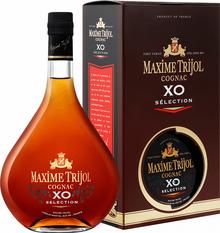 Коньяк французский «Maxime Trijol Cognac XO Selection» в подарочной упаковке