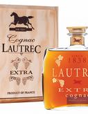 Коньяк французский «Lautrec Grande Champagne Extra» в деревянной подарочной упаковке