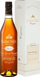 Коньяк французский «Maxime Trijol Cognac Elegance Grande Champagne Premier Cru» в подарочной упаковке