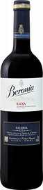 Вино красное сухое «Reserva Rioja Beronia» 2014 г.