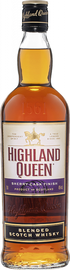 Виски шотландский «Highland Queen Sherry Cask Finish Blended Scotch Whiskey»