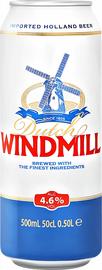 Пиво «Dutch Windmill» в жестяной банке