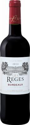 Вино красное сухое «Les Reges Bordeaux Producta Vignobles» 2014 г.