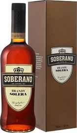 Бренди «Soberano Solera Gonzalez Byass Jerez» в подарочной упаковке