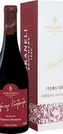 Вино красное сухое «Artwine Saperavi Premium Askaneli Brothers » в подарочной упаковке