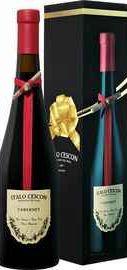 Вино красное сухое «Cabernet Piave Italo Cescon » 2014 г. в подарочной упаковке