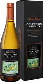 Вино белое сухое «Colleccion Privada Chardonnay Navarro Correas» 2018 г. в подарочной упаковке