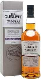 Виски шотландский «Glenlivet Nadurra Oloroso Matured» в подарочной упаковке