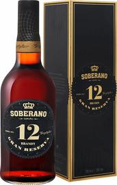 Бренди «Soberano Gran Reserva 12 Gonzalez Byass» в подарочной упаковке