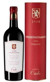 Вино красное полусухое «Appassionatamente Cielo Rosso» 2016 г., в тубе