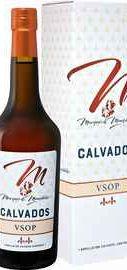 Кальвадос «Marquis De Montdidier Calvados» в подарочной упаковке