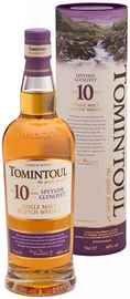 Виски шотландский  «Tomintoul Speyside Glenlivet Single Malt Scotch Whisky 10 years old» в подарочной упаковке