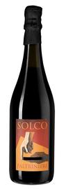 Вино игристое красное сухое «Lambrusco dell'Emilia Solco»