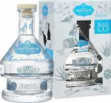 Текила «El Destilador Blanco Premium Artesanal Destileria Santa Lucia» в подарочной упаковке