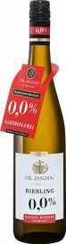 Вино белое сладкое «Dr. Zenzen Deutscher Riesling Alkoholfrei»