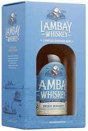 Виски ирландский «Lambay Small Batch Blend Irish Whiskey 4» в подарочной упаковке