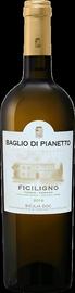 Вино белое сухое «Ficiligno Viognier Insolia Sicilia Baglio Di Pianetto» 2016 г.
