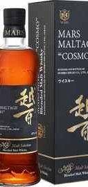 Виски японский «Mars Maltage Cosmo Hombo Shuzo» в подарочной упаковке