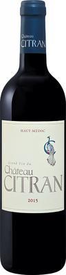 Вино красное сухое «Chatau Citran Haut Medoc» 2015 г.