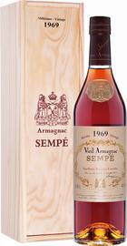 Арманьяк «Sempe Vieil Armagnac 1969» в деревянной подарочной упаковке
