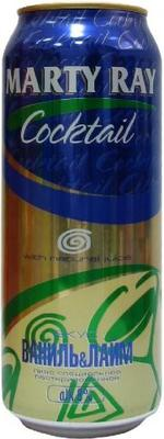 Пивной напиток «Marty Ray Vanilla-Lime»