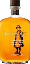 Виски американский «Jefferson`s Kentucky Straight Bourbon»