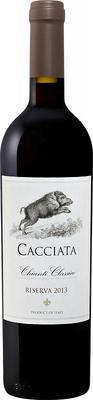 Вино красное сухое «Cacciata Chianti Classico Riserva Castellani» 2013 г.
