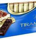 """Конфеты «Тёмный шоколад с начинкой Тирамису """"Baron""""» 100 гр."""