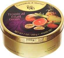 Леденцы «Cavendish & Harvey Тропические фрукты» 200 гр.