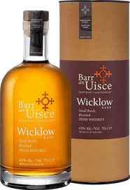 Виски ирландский «Barr An Uisce Wicklow Rare Small Batch Blended Irish Whiskey 4 years» в тубе