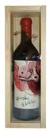 Вино красное сухое «Bodegas Penalba Lopez Torremilanos el Roble Viejo» в деревянной подарочной упаковке