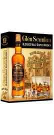Виски «Glen Scanlan Blended malt » в подарочной упаковке