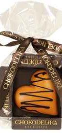 Шоколад белый «Сердце апельсиновое» 30 гр.