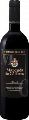 Вино красное сухое «Gran Reserva Rioja Marques De Caceres» 2011 г.